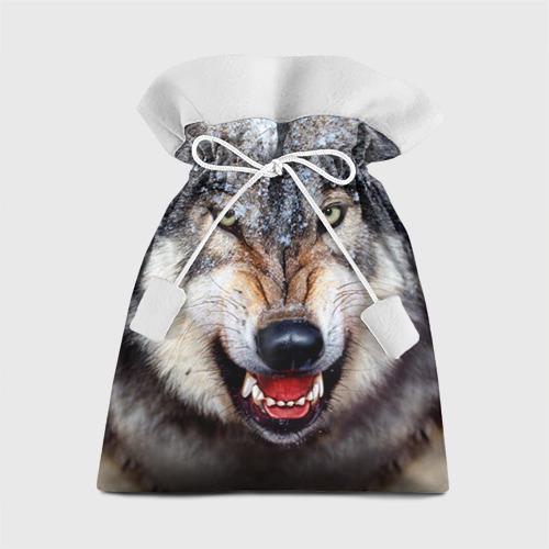 Подарочный 3D мешок Волк