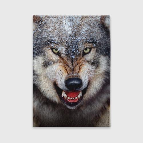 Обложка для автодокументов Волк Фото 01