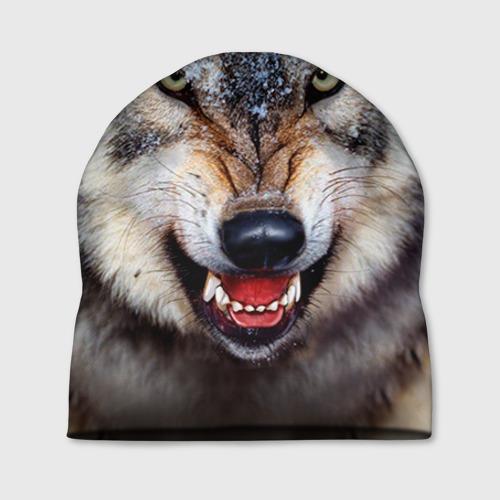 Шапка 3D Волк