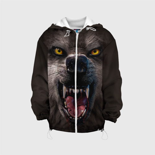 Детская куртка 3D  Фото 01, Злой волк