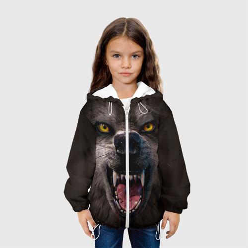 Детская куртка 3D  Фото 04, Злой волк