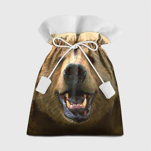 Подарочный 3D мешок Мишка