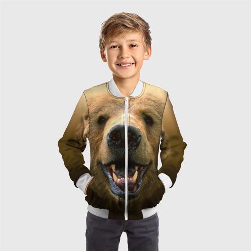 Детский бомбер 3D  Фото 05, Мишка