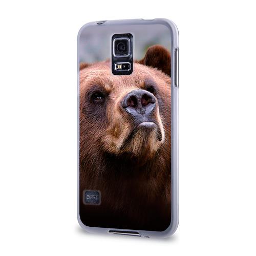Чехол для Samsung Galaxy S5 силиконовый  Фото 03, Медведь
