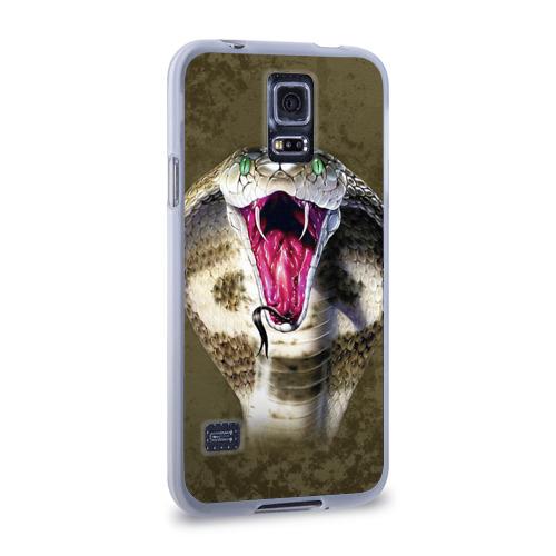 Чехол для Samsung Galaxy S5 силиконовый  Фото 02, Кобра