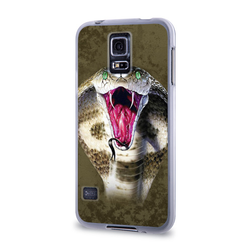 Чехол для Samsung Galaxy S5 силиконовый  Фото 03, Кобра