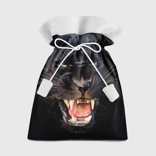 Подарочный 3D мешок Пантера