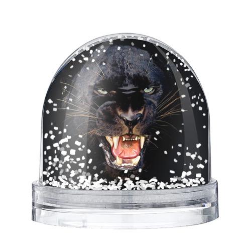 Водяной шар со снегом Пантера