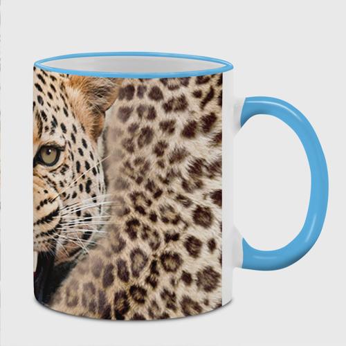 Кружка с полной запечаткой  Фото 02, Леопард