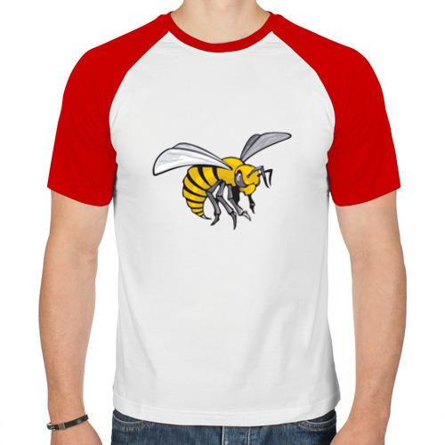 Мужская футболка реглан  Фото 01, Стальное жало