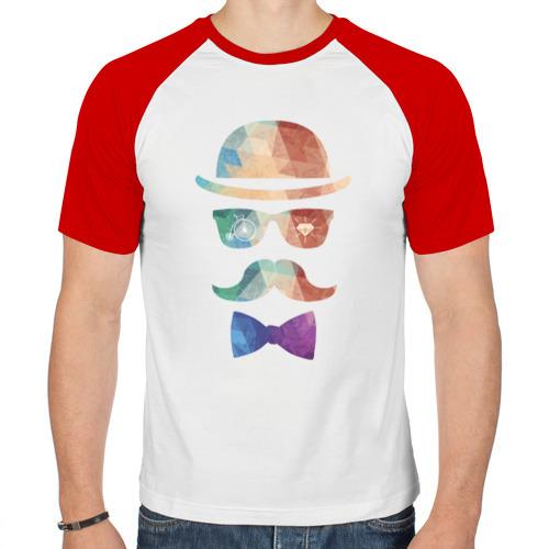 Мужская футболка реглан  Фото 01, Хипстер