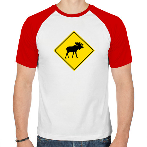 Мужская футболка реглан  Фото 01, Moose