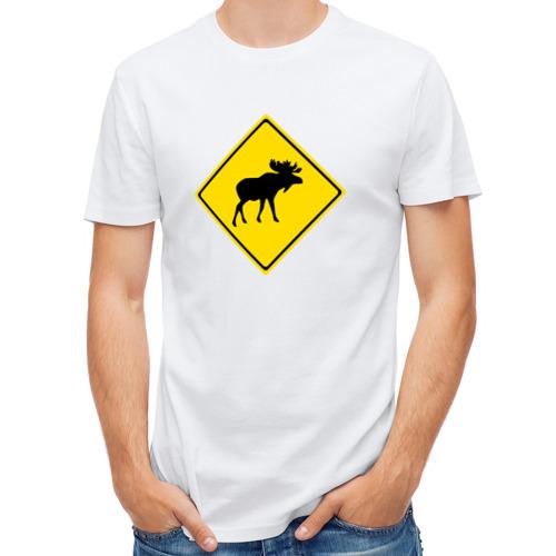 Мужская футболка полусинтетическая  Фото 01, Moose
