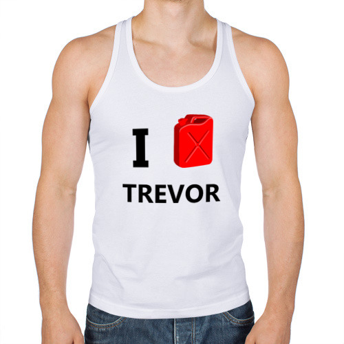 Мужская майка борцовка  Фото 01, I Love Trevor