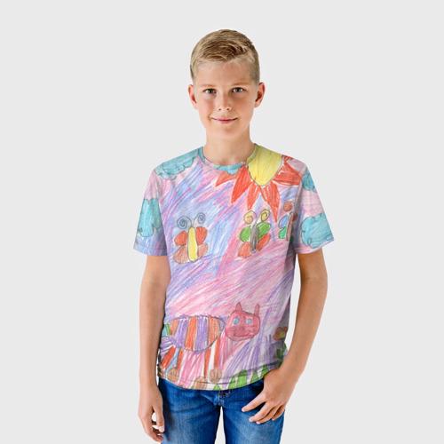 Детская футболка 3D Детские рисунки