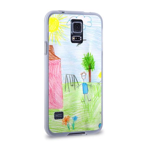 Чехол для Samsung Galaxy S5 силиконовый  Фото 02, Детские рисунки
