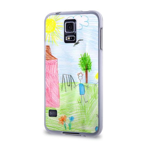 Чехол для Samsung Galaxy S5 силиконовый  Фото 03, Детские рисунки