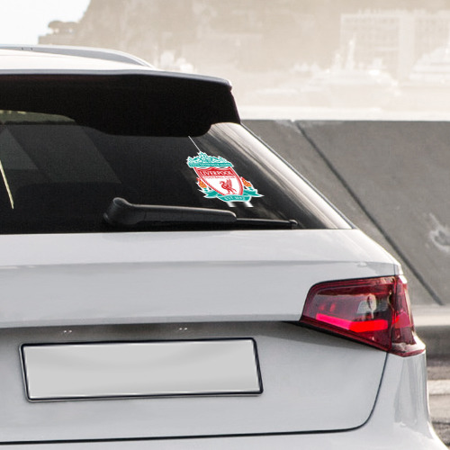Наклейка на автомобиль Ливерпуль Фото 01