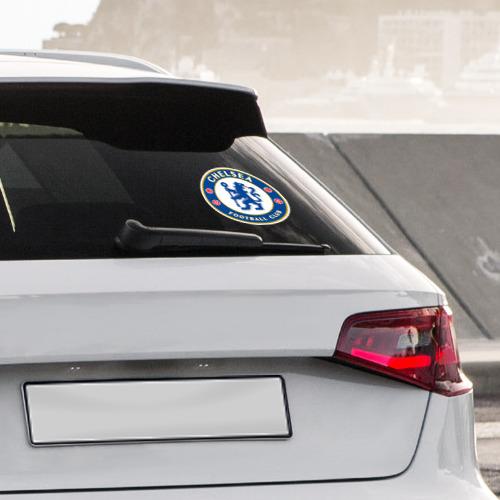 Наклейка на автомобиль Челси Фото 01