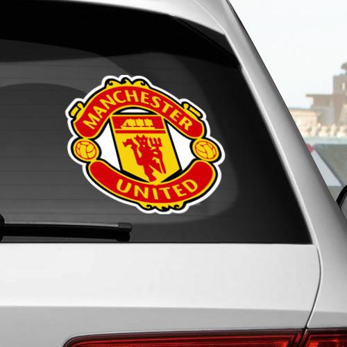 Наклейка на автомобиль  Фото 02, Манчестер Юнайтед