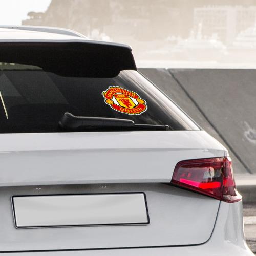 Наклейка на автомобиль  Фото 04, Манчестер Юнайтед