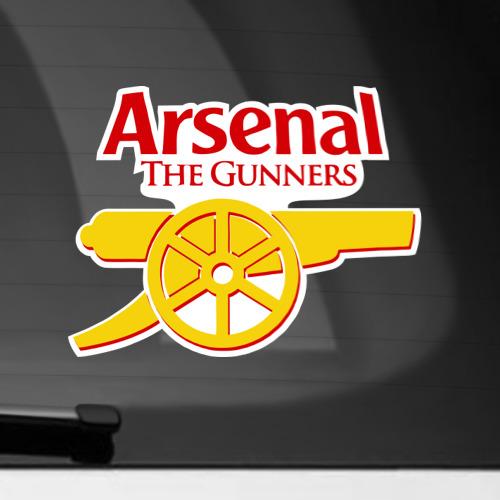 Наклейка на автомобиль Арсенал