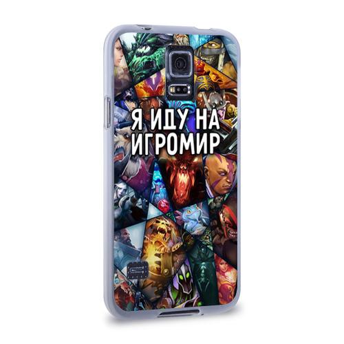 Чехол для Samsung Galaxy S5 силиконовый  Фото 02, Игромир