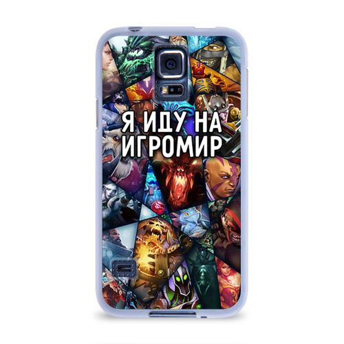 Чехол для Samsung Galaxy S5 силиконовый  Фото 01, Игромир