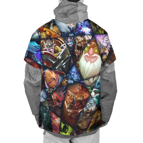 Накидка на куртку 3D  Фото 02, Игромир