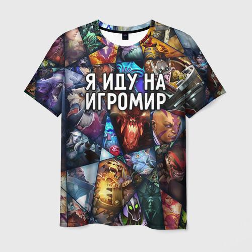 Мужская футболка 3D Игромир