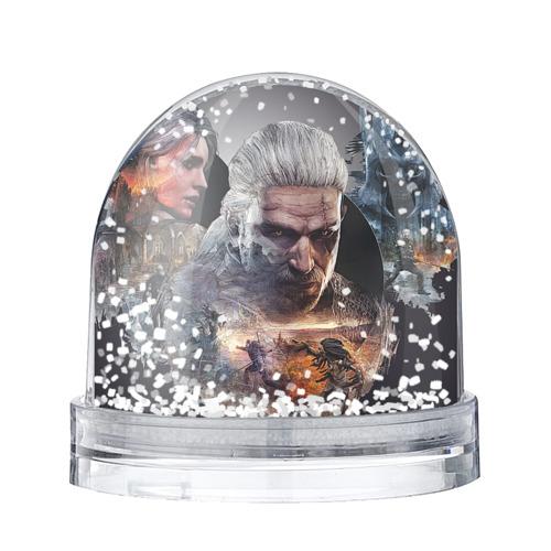 Водяной шар со снегом Игромир