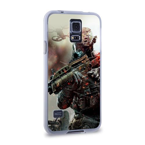 Чехол для Samsung Galaxy S5 силиконовый  Фото 02, Ghost Recon