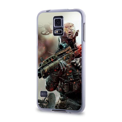 Чехол для Samsung Galaxy S5 силиконовый  Фото 03, Ghost Recon