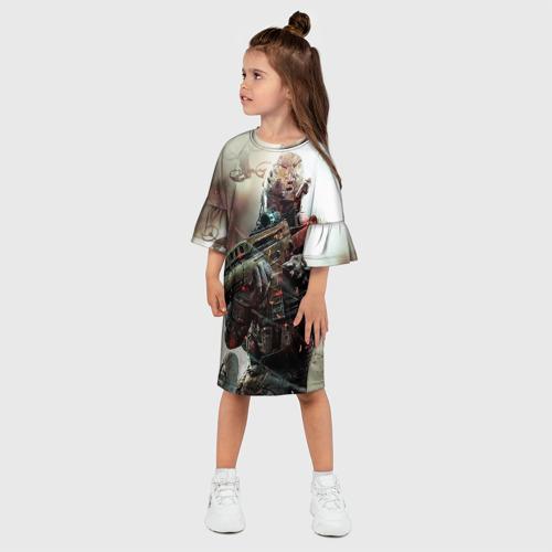 Детское платье 3D  Фото 03, Ghost Recon