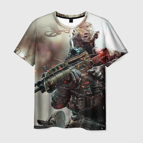 Мужская футболка 3D Ghost Recon