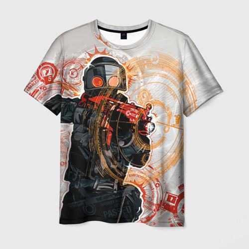 Мужская футболка 3D Counter Strike