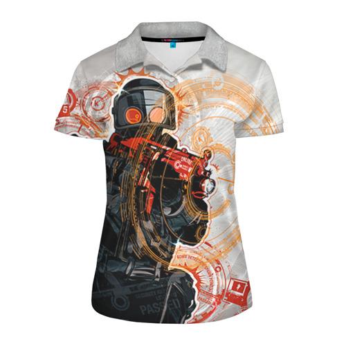 Женская рубашка поло 3D Counter Strike