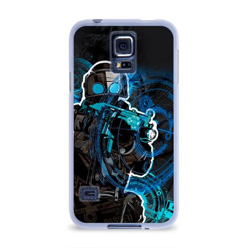 Чехол для Samsung Galaxy S5 силиконовый  Фото 01, Counter Strike