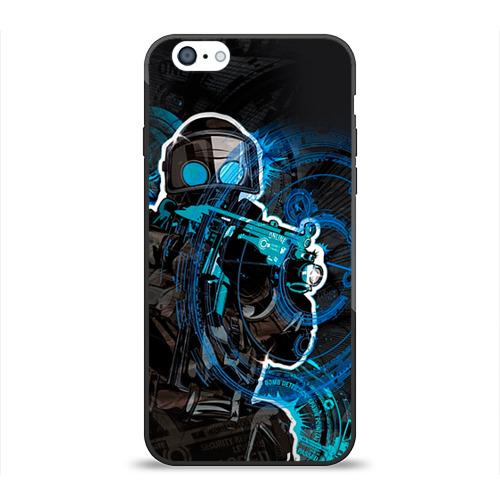 "Чехол силиконовый глянцевый для Apple iPhone_6 ""Counter Strike"" - 1"