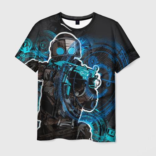 "Мужская футболка 3D с полной запечаткой ""Counter Strike"" (2) - 1"