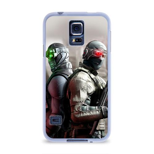 Чехол для Samsung Galaxy S5 силиконовый  Фото 01, Splinter Cell: Conviction