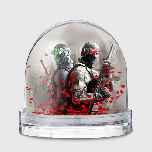 Водяной шар  Фото 01, Splinter Cell: Conviction