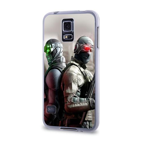 Чехол для Samsung Galaxy S5 силиконовый  Фото 03, Splinter Cell: Conviction