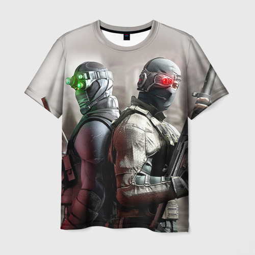 Мужская футболка 3D Splinter Cell: Conviction
