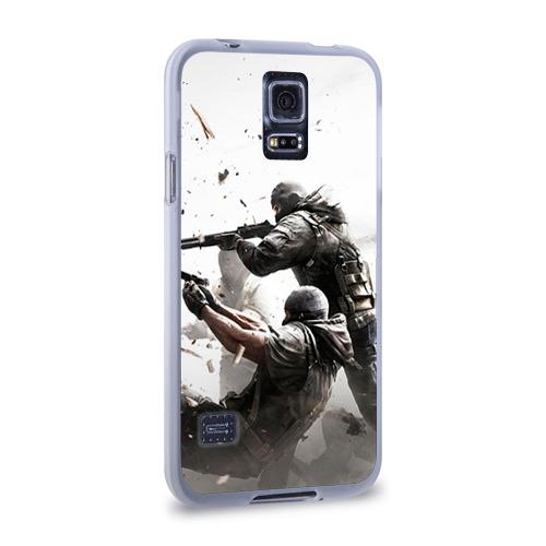 Чехол для Samsung Galaxy S5 силиконовый  Фото 02, Rainbow Six Siege