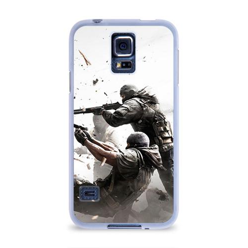 Чехол для Samsung Galaxy S5 силиконовый  Фото 01, Rainbow Six Siege
