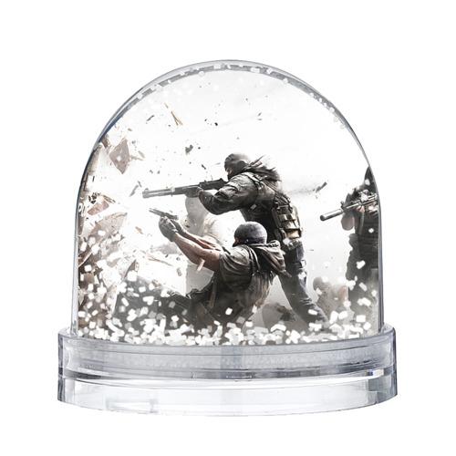 Водяной шар со снегом Rainbow Six Siege