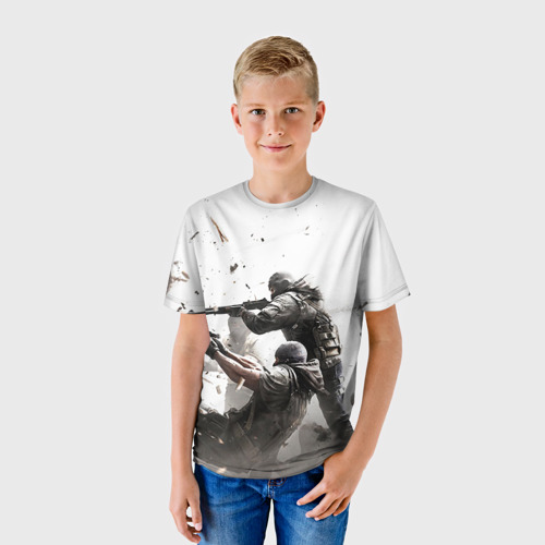 Детская футболка 3D Rainbow Six Siege