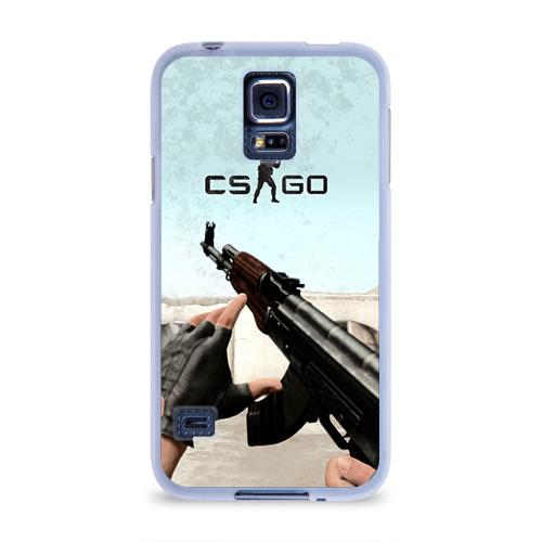 Чехол для Samsung Galaxy S5 силиконовый Counter Strike