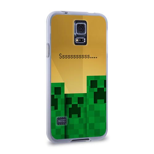 Чехол для Samsung Galaxy S5 силиконовый  Фото 02, Minecraft